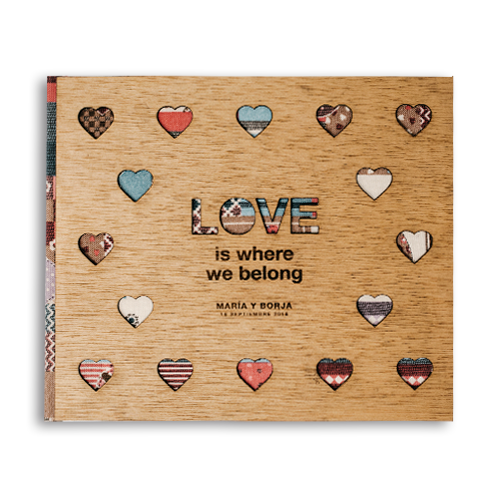 Miniatura Album Love corazon
